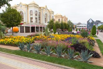 Kislowodsk - Kurortnyi Boulevard